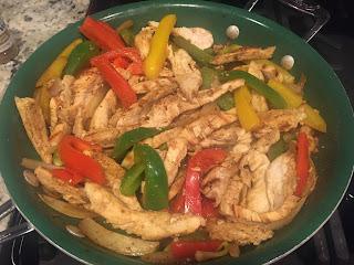 Healthy Grilled Chicken Fajitas