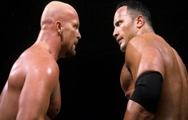 Dwayne Johnson vs Stone Cold