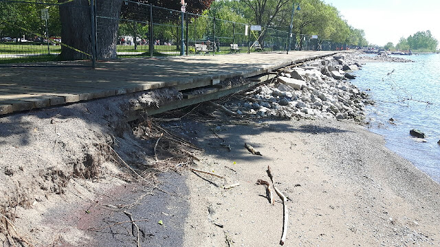 Lake Ontario Erosion Boardwalk