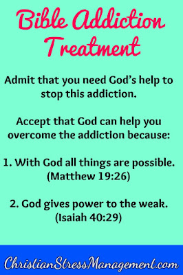 Bible addiction treatment