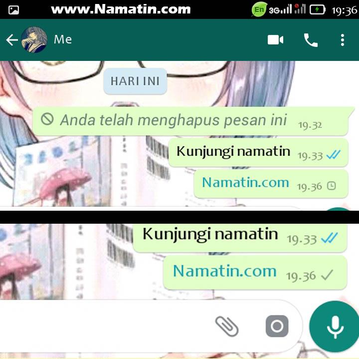cara membaca pesan whatsapp yang