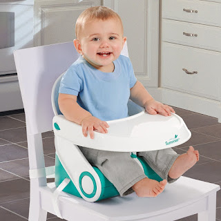 Feeding seat and booster in one, Summer Infant Sit 'n Style Booster Seat £14.99