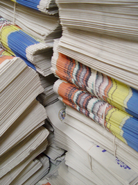 photo de journaux