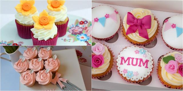 cupcakes dia das mães