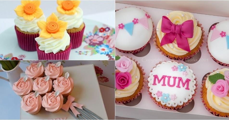 10 Ideias de como decorar cupackes para o dia das mães - Amando ...