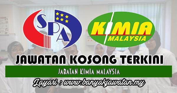 Jawatan Kosong 2018 di Jabatan Kimia Malaysia