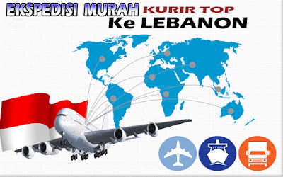 JASA EKSPEDISI MURAH KURIR TOP KE LEBANON