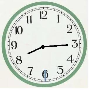gambar pukul 08.15