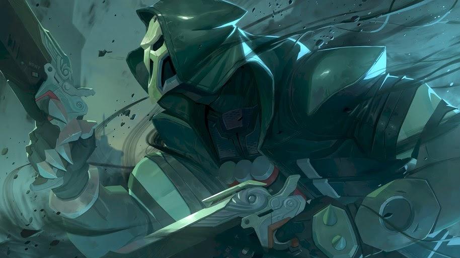 Reaper Overwatch 4k Wallpaper 111