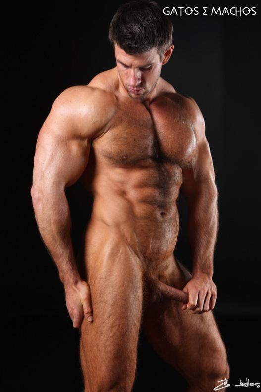 Teen bodybuilder 16 hairy chest