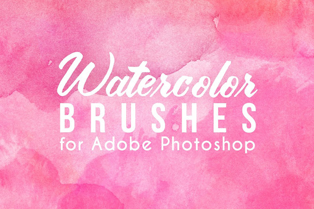 Real Watercolor Brushes for Adobe Photoshop - AVENIE DIGITAL
