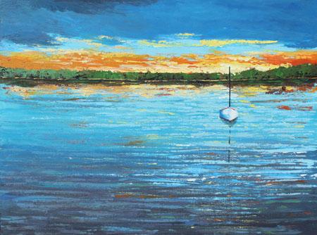 Artist Derek Collins Blog Modern Impressionist Landscape