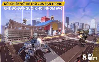Game Robot bắn súng cho android