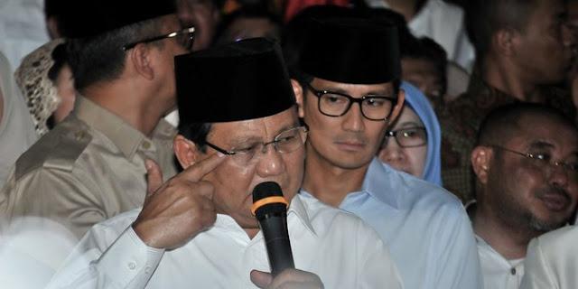 Sindiran Prabowo Subianto dan Ongkos Nyapres Butuh Uang Triliunan
