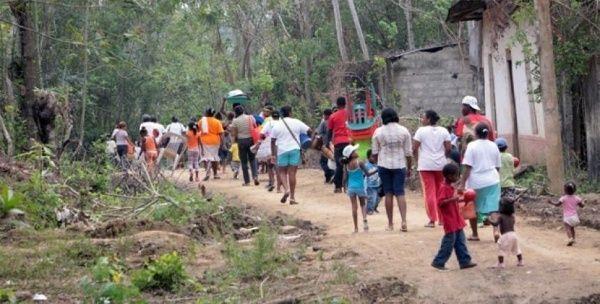 ONU advierte más 700 desplazamientos forzados en Colombia en abril