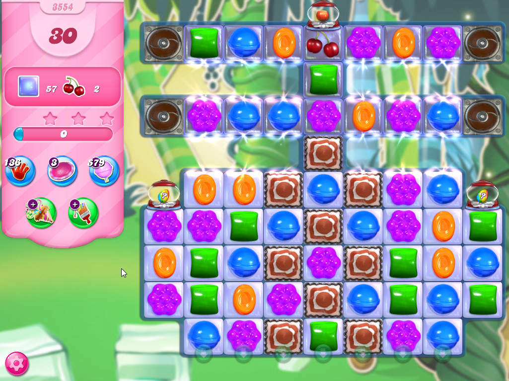 Candy Crush Saga level 3554
