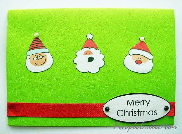 3 Santa Card