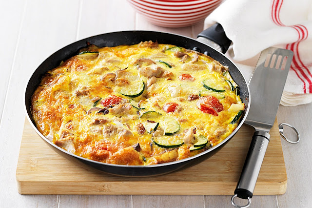 menu sarapan sehat frittata (via taste.com.au)