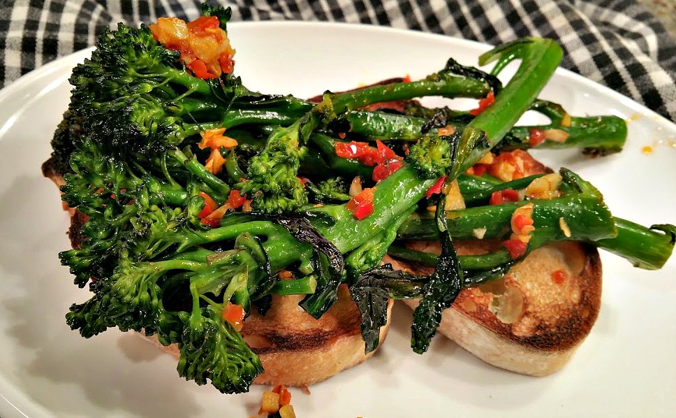 Napa Farmhouse 1885 Sauteed Broccolini With Garlic And