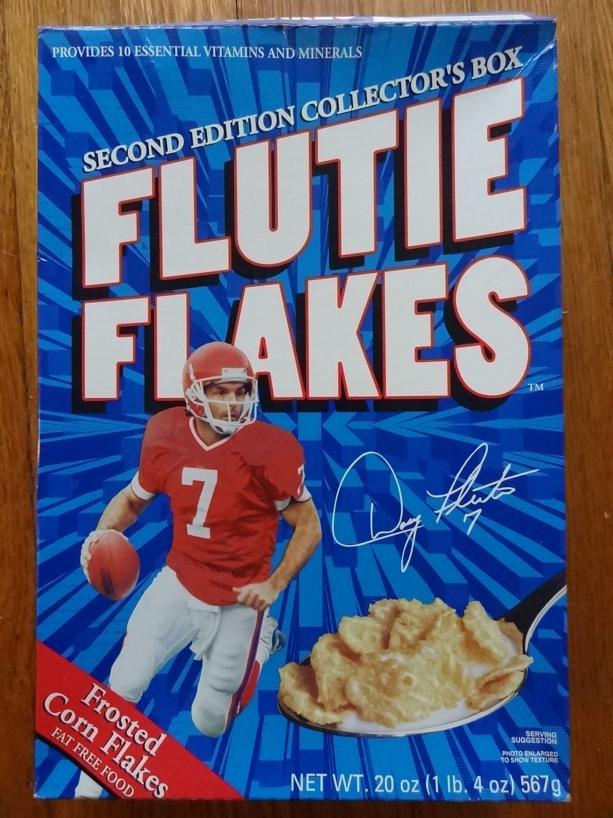 MONSTER DAD: Gronk Flakes vs  Flutie Flakes