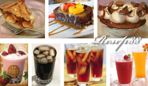 Dessert dan Minuman