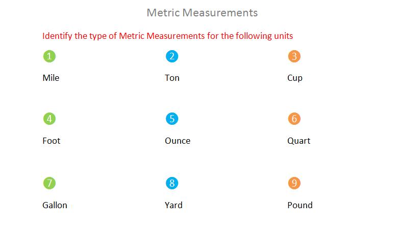 Bro and Sis Math Club: Metric Measurements