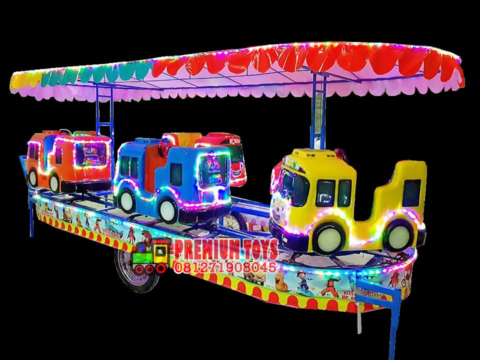 Premium Toys Wahana Kereta Mini Berkualitas Kereta Mini Model Tayo 081271908045