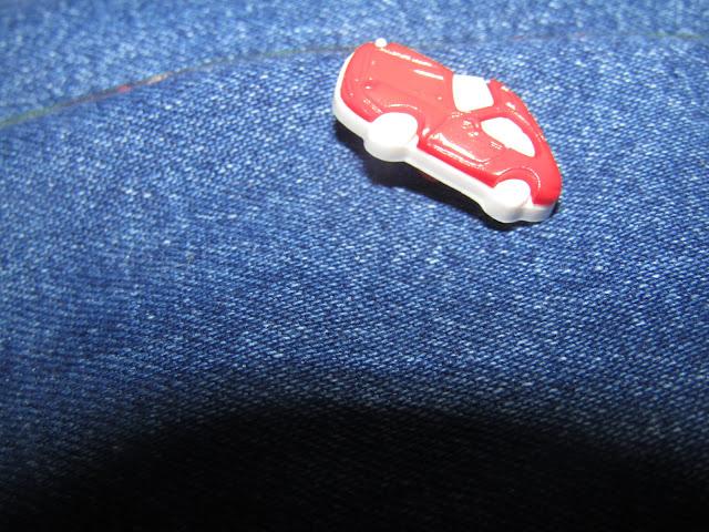 cartable, circus, jeans, laëtitia gheno, Laëtibricole, rabat père-fils, rabat Laëtibrocole, En piste Tissu froufrou, mon coin couture,