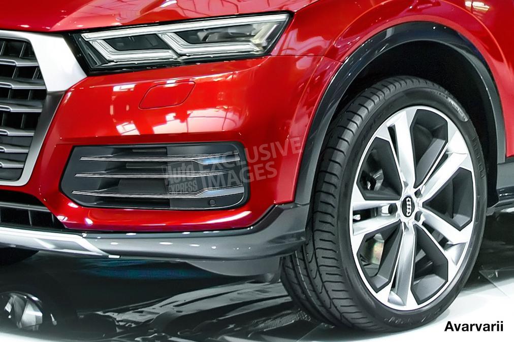 Foto nuova Audi Q5 2017