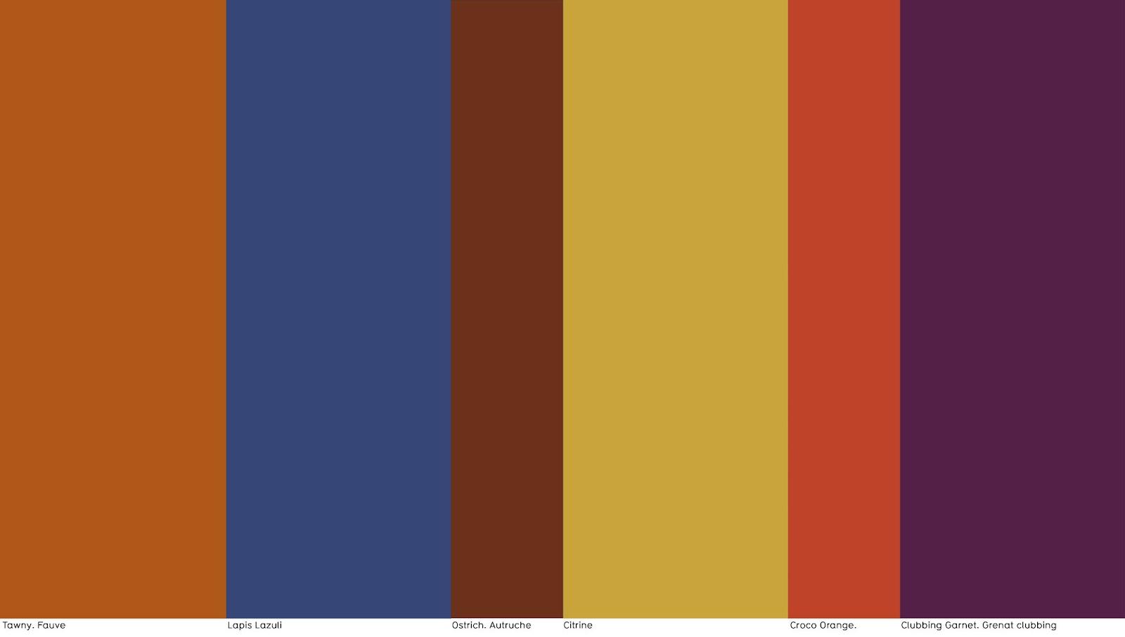 Colores tendencia oto o invierno 2017 2018 klase y - Colores decoracion 2017 ...