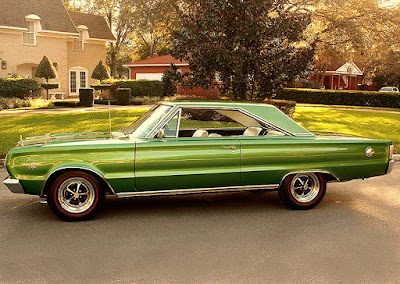 1967 Plymouth GTX 440 Magnum Sports Coupe Side Left