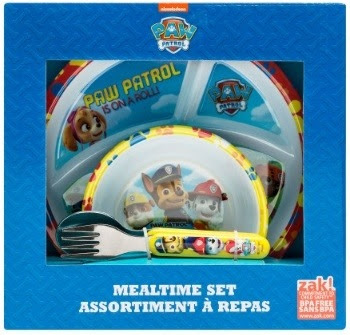 Paw Patrol Meal Group Shot Mealtime Set