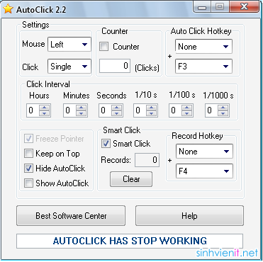 Auto Click 2.2 Free Download