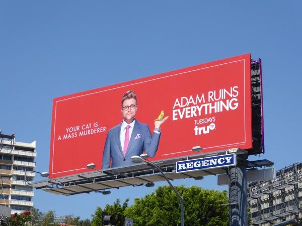 Adam Ruins Everything 1 billboard