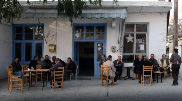 """Στο καφενείον """"η Ελλάς"""", περάστε κόσμε!"""