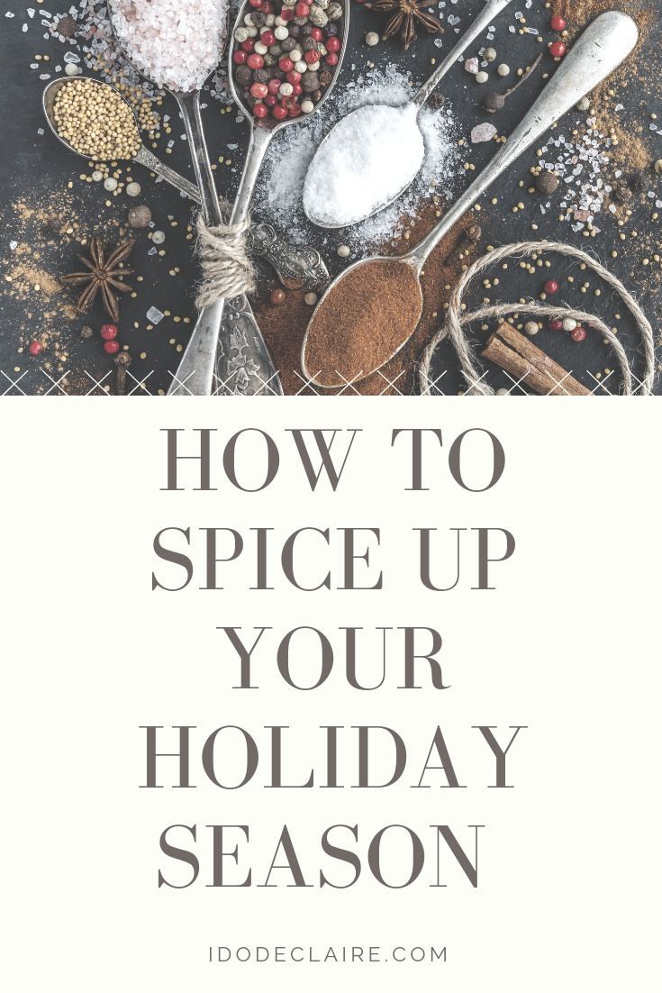 Spice Up Your Holiday Season & Giveaway