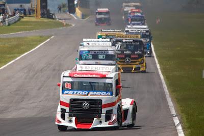 Caminhão Volkswagen, caminhão de corrida