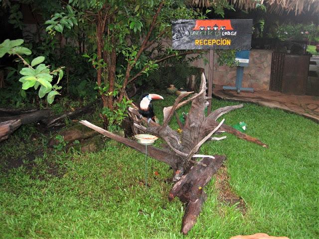 Canaima, entrada a Waku Lodge