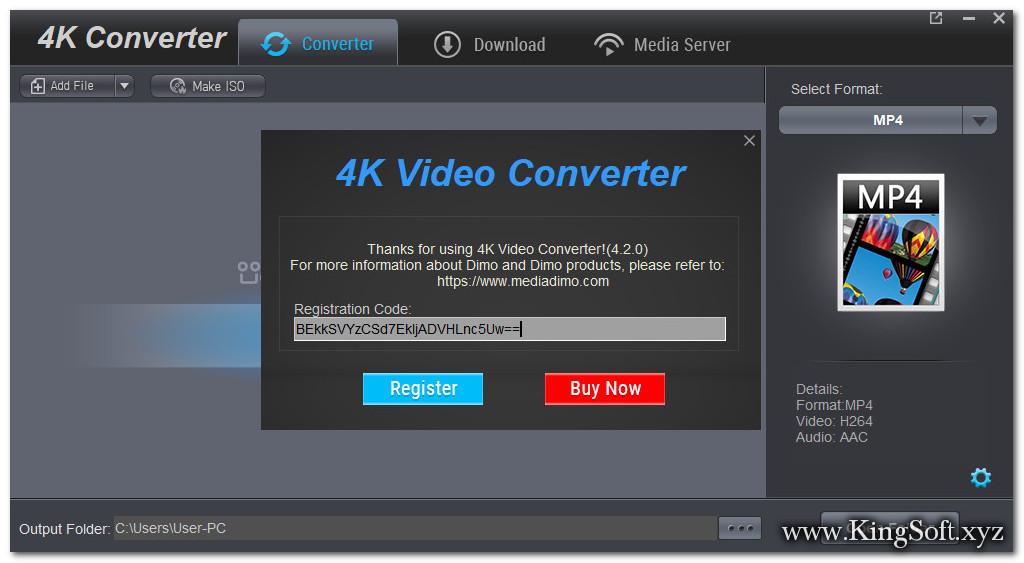 Dimo 4K Video Converter 4.2.0 Final Full Key,Phần mềm tải và chuyển đổi Video 4K, Tạo Media Server