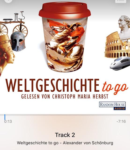 Weltgeschichte to Go- Frau Pixel hört ein Hörbuch