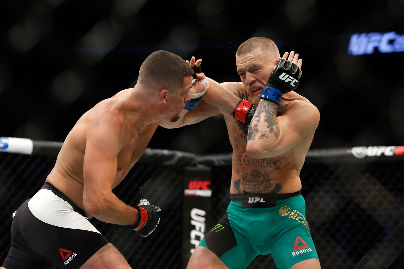 CONOR MCGREGOR VS. NATE DIAZ 8