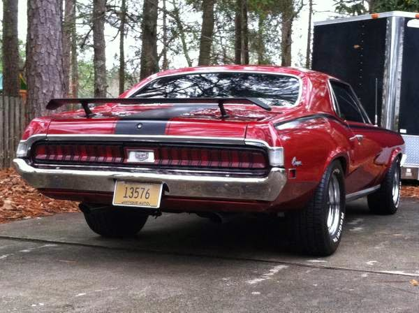 Rare 1970 Mercury Cougar Xr7 Buy American Muscle Car
