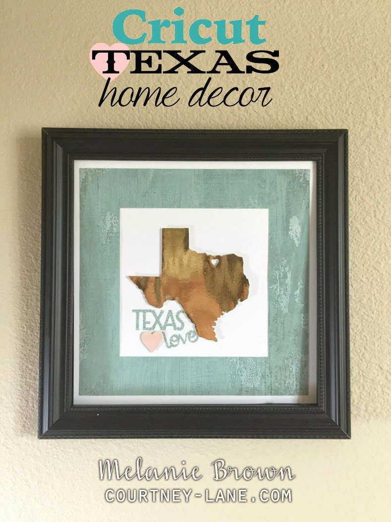 Texas Love Home Decor