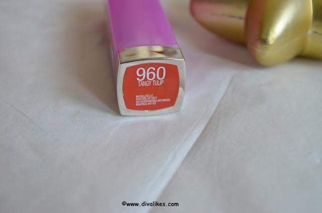 Maybelline Color Sensational Lipstick Tangy Tulip 960