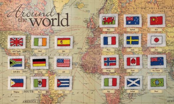banderas, pins, broches, alfileres, diys, labores
