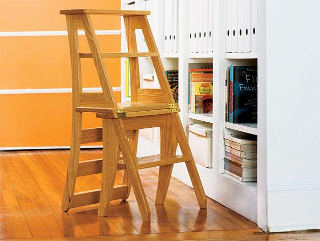 Ah E Se Falando Em Madeira Pdf Cadeira Que Vira Escada