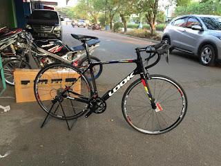 Road Bike Look 765 Pro Team 2x9 speed shimano Sora Original Look