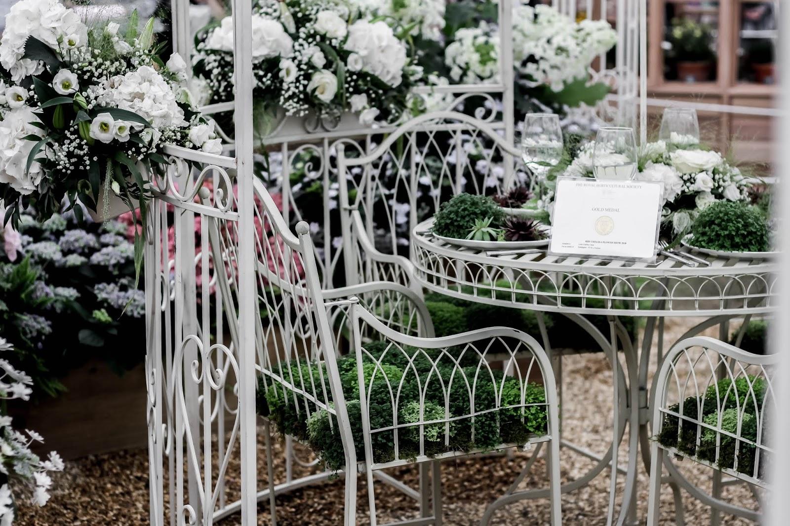Award Winning Exhibit at Chelsea Flower Show 2018
