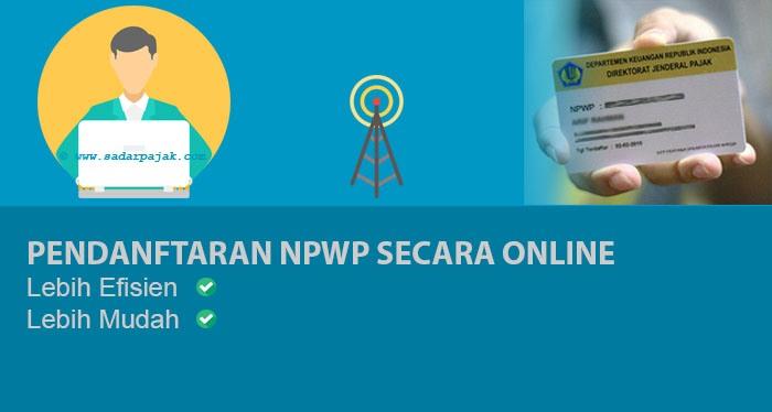 Membuat NPWP Online