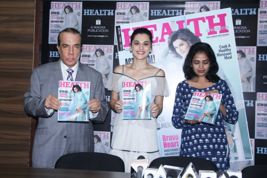 Taapsee Pannu at Health and Nutrition Magazine Launch